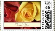 Thank You Postage Stamp! - #thankyou #thankyoustamp #postage stamps #rosestamps