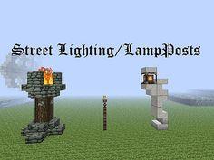Zeverth's Brisk Builds - 2 - Street Lighting/LampPosts Minecraft Project