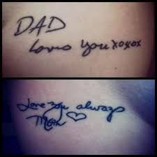 Image result for memorial tattoos for dad