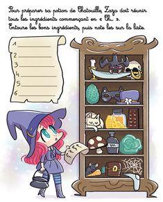 Jeu : La potion de sorcière / by Libou