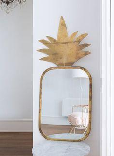 Honoré Décoration Marseille - Miroir Ananas XL