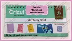 Close to My Heart Artfully Sent Cricut Cartridge Handbook PHOTOS!