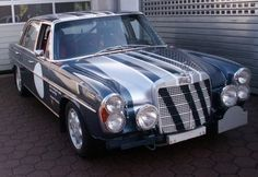 1968 Mercedes Benz 300SEL 6.3 Sedan Rally Car For Sale Front