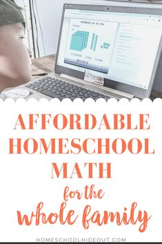 CTCMath is the ultimate homeschool math on a budget. I pay just a fraction for the WHOLE family than I did for just one kid!