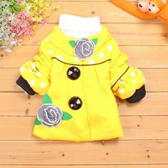 Aliexpress.com : Buy 2013 winter female children outerwear winter jackets for girls down jackets two big buttons dot print Flowers SCG 3064 from Reliable girls winter coat suppliers on Sunlun Wholesale And Retail Center $15.89