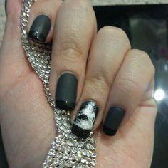 Fifty Shades Darker nail look