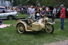 1942 BMW motorcycle with sidecar