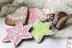 Receita de Biscoitos de Gengibre - Gingerbread Cookies                                                                                                                                                                                 Mais