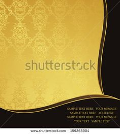 Vintage seamless background. Can be used as wedding invitation