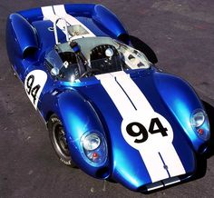 1963 Shelby Monaco King Cobra. Although not an AC, they have a lot in common, including the 289 OHV (overhead valve) engine which produced 400hp@ 7000rpm. It was a mid-engine (engine mounted behind driver) design to achieve optimum weight distribution, a 5spd transaxel, 4wheel disc brakes, and 4 wheel fully independent coil over suspension. Shelby actually raced this car.