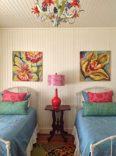 Jane Coslick Cottages : Color And The Simple Laid Back Lifestyle.