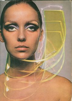 60S MAKEUP WAS ALL ABOUT THE EYES--DONNA MITCHELL PHOTOGRAPHED BY HIRO FOR BAZAAR