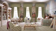kate middleton nursery | William and Kates nursery for royal baby at Kensington Palace ...