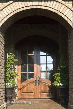 Front Entry Door, Entry Door, Exterior Entry Door, Exterior Entry Doors, Front Entry Door Photos - getdecorating.com