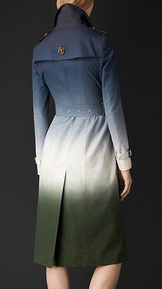 Tinta Trench coat em seda degradê - Imagem 2