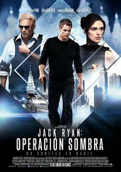 Código sombra: Jack Ryan (2014) - Thriller de #accion basado en el analista de la CIA creado por Tom Clancy #peliculas #estrenos