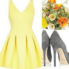 d85ce69cb163 Yellow Bridesmaid Dress Inspiration