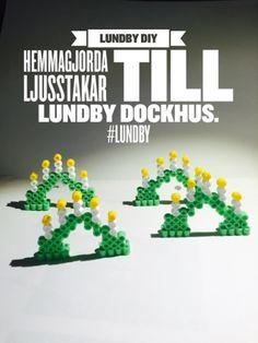 Ljusstakar till Lundby dockhus