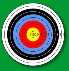archery target - Google Search