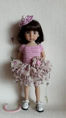 Outfit-for-doll-13-Dianna-Effner-Little-Darling-hand-made. SOLD for $103.50 on 6/3/15.