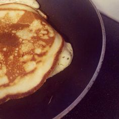 Cousin Cynthia's pancake had a sad beginning (and end)