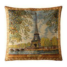 Torre Eiffel Tapeçaria Pillow