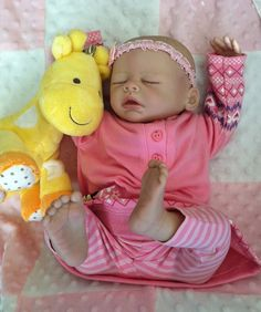 Sweet Reborn baby girl Sam is available for by MoonlitNightNursery, $350.00