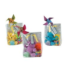 "For the Young and the ""Young at Heart"" Wedding Favors  Keep kids of all ages entertained at your wedding reception with these kid-friendly wedding favor bags! Add the contents of your choice to each bag along with your own special message."