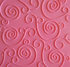 Swirlz Texture Plates by Creaticca Studio. Use them on pewter, creative craft metal, paper, clay and walls. Available at Creaticca Studio. 12.5 x 12.5cm.  Available at www.creaticcastudio.co.za