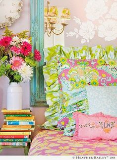 What I Love Wednesday: Beautiful, Cheery, Colorful Rooms