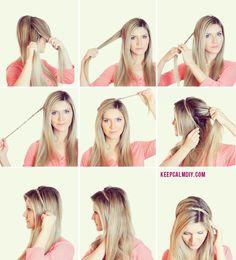 KeepCalmDIY o maior canal de Faça Você mesmo! DIY | Moda | Beleza | Viagem | Culinária: Como fazer uma tiara de trança | Easy Hairstyles #2