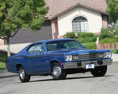 """1973 Plymouth Duster 340 4bbl V8/727 auto/3.23 8 3/4"""" axle"""