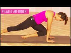 Pilates Ab Toner Workout with Gabrielle is a 15 minute abdominal workout that features a series of core-strengthening Pilates-influenced exercises that will ...