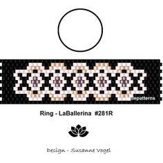 peyote ring patternPDF-Download 281R beading pattern