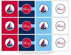 Free Printables: Nautical Party Printables | Baby ideas ...