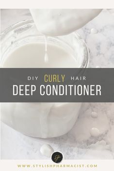 diy deep conditioner for natural hair DIY Curly Hair Deep Conditioner With simple ingredients you can find in your pantry Stylish Pharmacist Curly hair natural hair long curly hair natural hair deep conditioner diy natural hair deep condirioner Diy Conditioner, Deep Conditioner For Natural Hair, Homemade Deep Conditioner, Natural Shampoo, Scene Hair, Hair Mayonnaise, Natural Hair Care, Natural Hair Styles, Best Diy Hair Mask