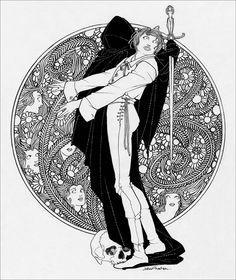 Hamlet, Prince of Denmark. Selwyn & Blount, London, 1922. Illustrations by John Austen.