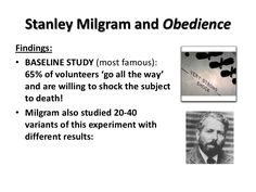 milgram psychology 12 marks $412 stanley milgram taught social psychology at yale university and harvard university before becoming a  mark johnson 50 out of 5.
