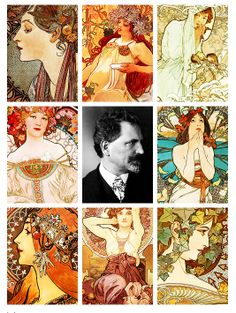 "Alfons Mucha    ""The purpose of my work was never to destroy but always to create, to construct bridges, because we must live in the hope that humankind will draw together and that the better we understand each other the easier this will become. """