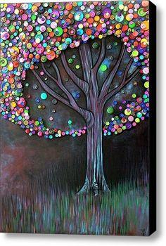 a button tree - cool idea