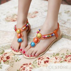 Chinese Style Clip Toe Flat Sandals . $23.19. Chinese Style Clip Toe Flat Sandals