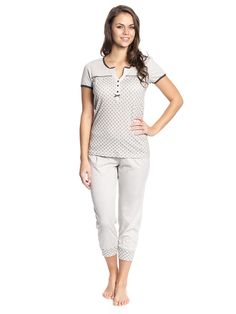 Vive Maria Sweet Honey Special Pyjama cream/black Vive Maria Pyjamas