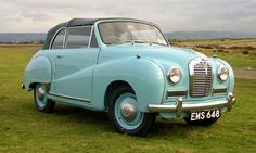 1952 Austin A40 Somerset convertible