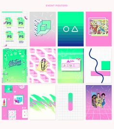 Each year at Ringling College every major exhibits their senior thesis work. This year we were tasked with branding the Motion Design 2015 Senior Class Gallery Show. Our concept and inspiration was to bathe everything in a slightly modernized 1990's graph…