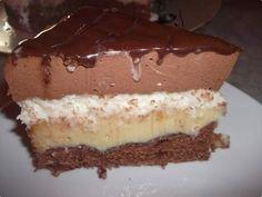 Bolo Tentação de Chocolate e Coco | Leite Condensado - Bolo que assa com recheio