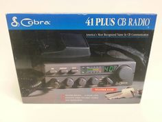 Free Shipping Cobra 41 Plus CB Radio NEW NOS by TroysCollectibles