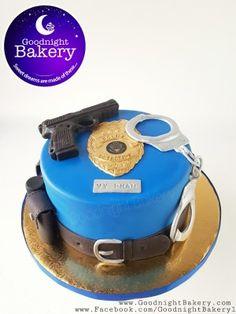 Police Themed Cake