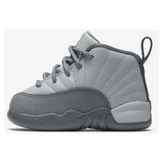 Jordan 12 Retro (2c-10c) Infant/Toddler Shoe. Nike.com ($60) ❤ liked on Polyvore featuring shoes