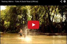 Watch: Rodney Atkins - Take A Back Road See lyrics here: http://rodneyatkinslyrics.blogspot.com/2014/08/take-back-road-lyrics-rodney-atkins.html #lyricsdome