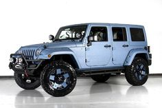 2013 Jeep Wrangler Unlimited Lifted & Customized